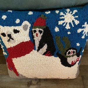 Winter pillow.